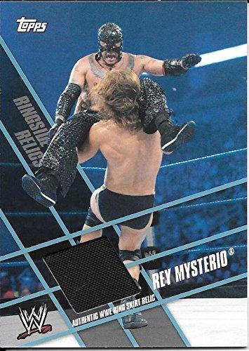 2011 Topps WWE Ringside Relics Rey Mysterio Ring Skirt Relic Card (Wwe Ringside Relics)