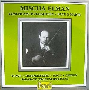 Tchaikovsky, Bach: Violin Concertos /MUACHA ELMAN