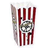 Shindigz Plastic Popcorn Box Set of 4