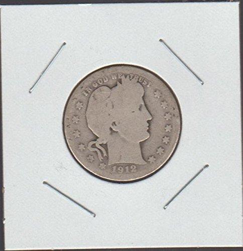 1912 Barber Quarter Good (1912 Barber Quarter)