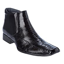 Alberto Fellini Mens Cow-Boy Boots Western Style Slip-on Shoes
