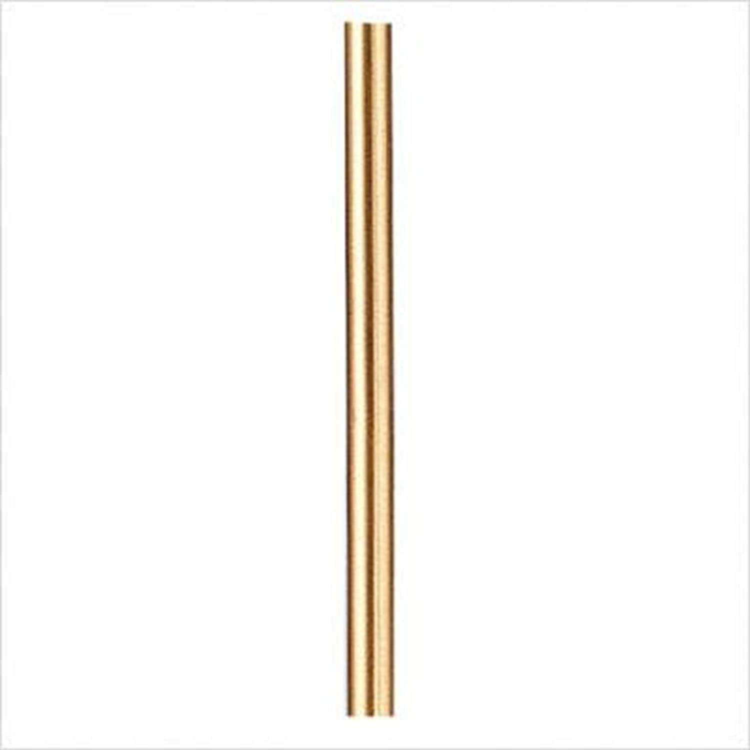 Savoy House 7-EXTLG-322 Extension Rod, Choose Finish: Warm Brass