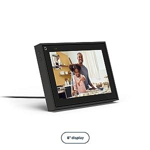 "Facebook Portal Mini Smart Video Calling 8"" Touch Screen Display with Alexa Black"