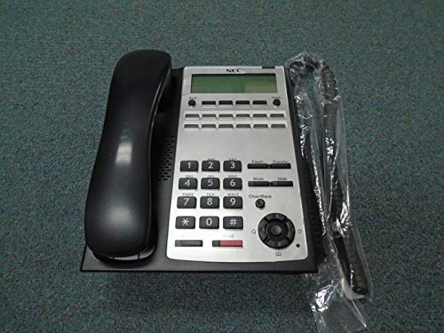 NEC SL1100 IP4WW-12TXH-B 1100061 12 Button Display Speaker Telephone - Phone Nec Speaker