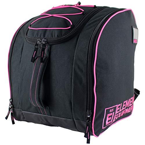 Element Equipment Boot Bag Deluxe Snowboard Ski Backpack Pink (Pink Snowboard Bag)