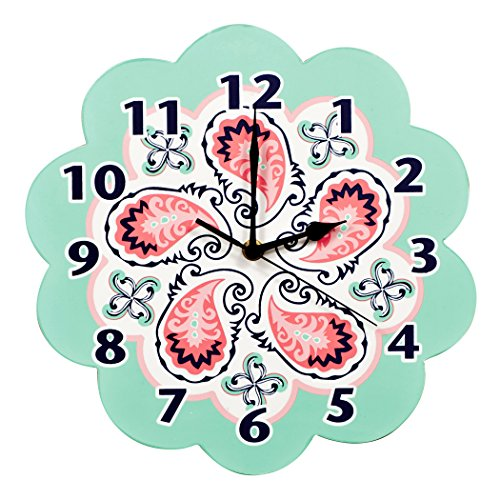 Trend Lab Wall Clock, Moroccan Paisley