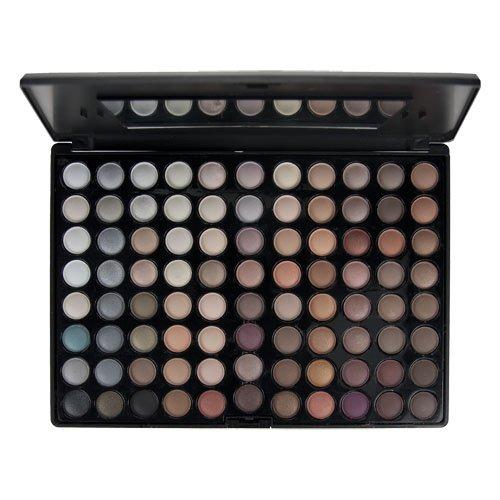 Blush Professional 88 Colour Earth Tones Eyeshadow Palette/Lidschatten palette