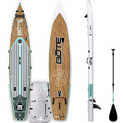BOTE Traveller Aero Classic Paddle Board for Distance and Performance Paddling (Bote Board)