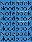 Graph Paper Notebook with 1 Cm Squares 120 Pages, Spicy Journals, 1497381541