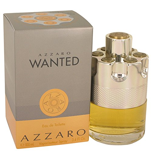 Azzaro Wanted Eau De Toilette Spray, 3.4 Ounce