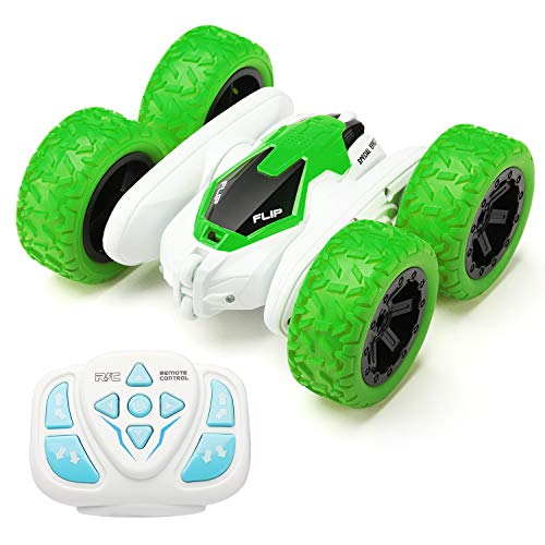 Leapdream Remote Control Car 4WD 2.4Ghz Vehicle 360 Degree Flip Monster Race Toy Cool Birthday Gifts for Boys Age 3 5 6 7 8 9 10 11 Year Old Kids Toys