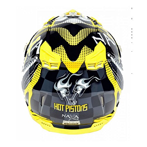 Amazon.es: Motocross Casco, Off Road Enduro Quad Naxa negro ...