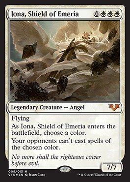 Magic: the Gathering - Iona, Shield of Emeria - From the Vault: Angels - Foil