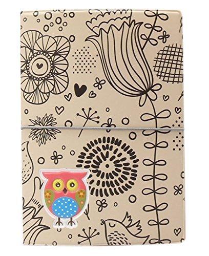 Highsun 3D Cartoon Owl Travel Essentials Card Holder Passport Cover Passport Wallet Multifunctional Card package Passport Holder Document Holder Bag for Protect Your (Halloween Ticket Tree)