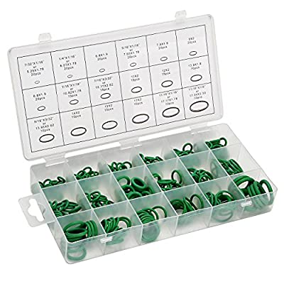 LESOLEIL Rubber O-Ring Assortment Kit