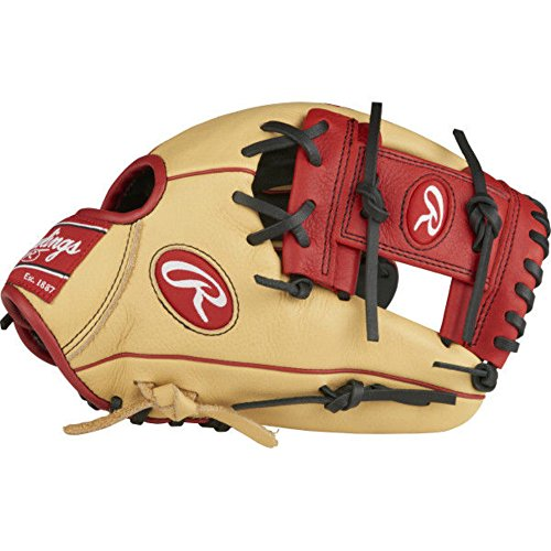 Infielders Youth Baseball Glove - Rawlings SPL112AR-6/0 Select Pro Lite Youth Baseball Glove, Addison Russell Model, Regular, Pro I Web, 11-1/4 Inch