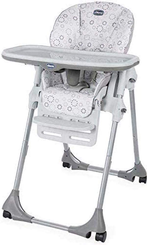 chicco chaise haute bébé polly progres5 4 roues mirage 5
