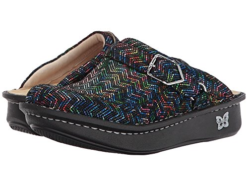 Price comparison product image Alegria New Women's Seville Mule RIC Rack Rainbow 38