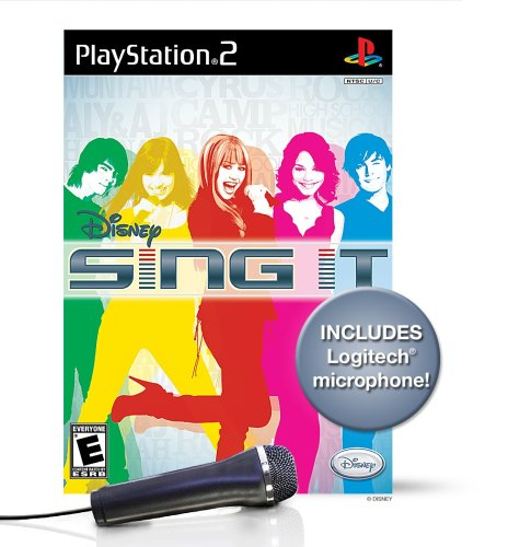 Free Disney Sing It Bundle with Microphone - PlayStation 2