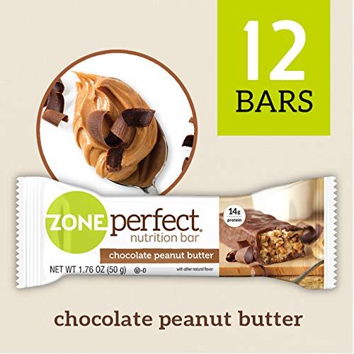 - Zone Perfect Nutrition Bar, Chocolate Peanut Butter, 12 Count