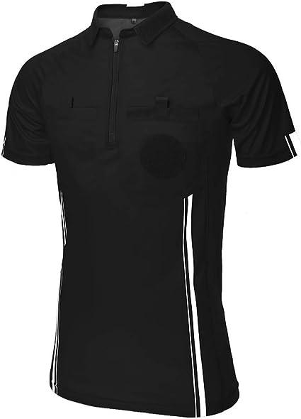 TopTie T shirt pour arbitre de football à manches courtes