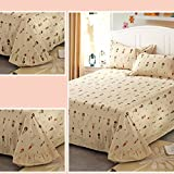 cotton sheets/One piece cotton sheets/Nordic simple style sheets-B 250x245cm(98x96inch)