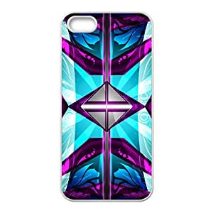 Artistic aesthetic fractal fashion phone case for iPhone 5s
