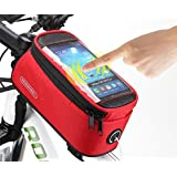 Cycling Bicycle Bike Front Tube Top Tube Smartphone Bag Frame Pannier Phone Holder for iPhone Samsung HTC Nokia Sony LG and Other Smartphones