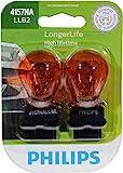 Philips 4157NALLB2 LongerLife Miniature Bulb, 2 Pack: more info