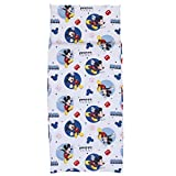 Disney Mickey Mouse Preschool Nap Pad Sheet, Blue, 19'' x 44''