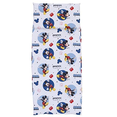 - Disney Mickey Mouse Preschool Nap Pad Sheet, Blue, 19