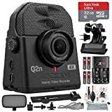 Zoom Q2n-4K Handy Digital Multitrack Video Recorder with 32GB Deluxe Accessory Bundle