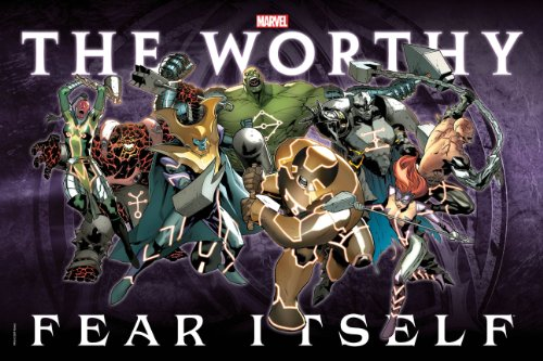Marvel Comics Fear Itself the Worthy Vs. The Mighty Poster B
