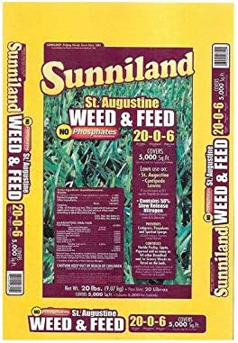 Sunniland St. Augustine Weed And Feed
