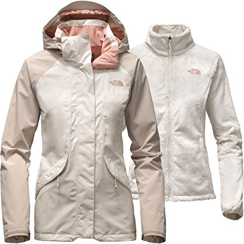 - The North Face Women's Boundary Triclimate Jacket Vintage White/Doeskin Brown (Prior Season) Small