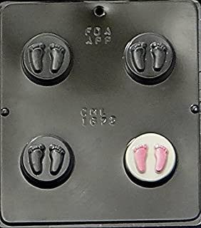 Baby Feet Oreo Cookie Sandwich Chocolate Candy Mold Baby Shower 1672