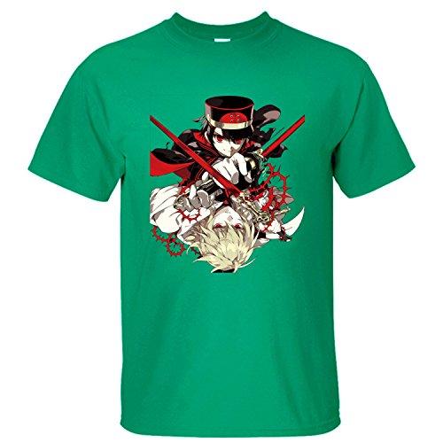 MVYE Men's Owari No Seraph T Shirt Organic Cotton green XXL