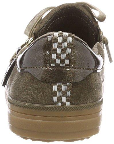 Sin Para Zapatillas khaki Verde oliver Cordones Mujer 23610 31 S 701 SqIHUY
