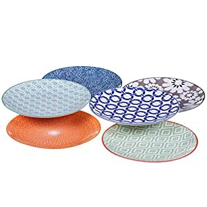 Certified international mix match chelsea for Canape plate sets