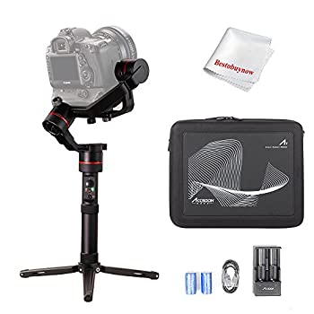 Image of ACCSOON A1-S 3-Axis Handheld Gimbal Stabilizer for Cameras Loading 3.6KG Full Visual Without Cover Time Lapse Motion Control Function 15 Hours Runtime APP Free Firmware Update Stabilizers