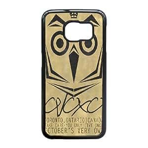 Samsung Galaxy S6 Edge Phone Case Black Drake Ovo Owl WQ5RT7570493