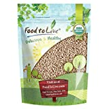 Organic Hulled Barley by Food to Live (Non-GMO, Bulk Grain, Product of The USA) — 1 Pound