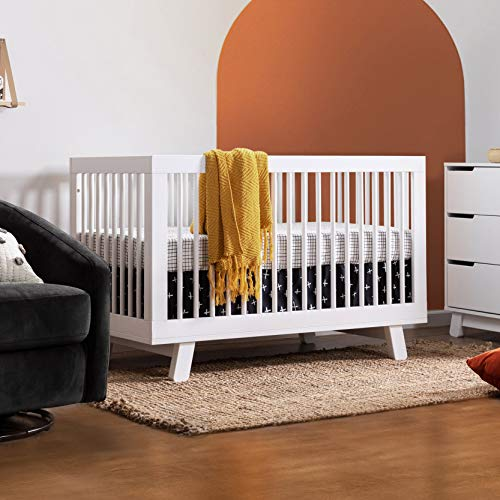 51zHjo%2BT7VL - Babyletto Hudson 3-in-1 Convertible Crib With Toddler Bed Conversion Kit In White, Greenguard Gold Certified