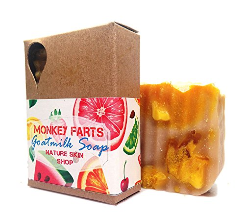 Monkey Farts Goat Milk Natural Soap, Cold Process