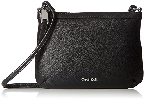 Calvin Klein Carrie Pebble Key Item Crossbody (Key Item Cross Body)