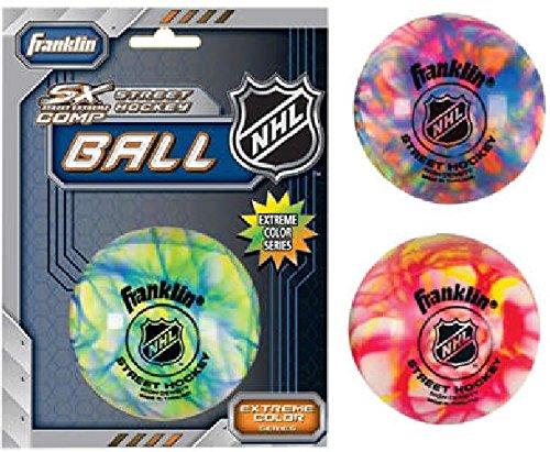 Streethockey Ball Franklin Extreme Colour High Density (Stück) Wallenreiter Sportgeräte