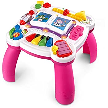 Amazon Com Leapfrog Learn Amp Groove Musical Table Toys