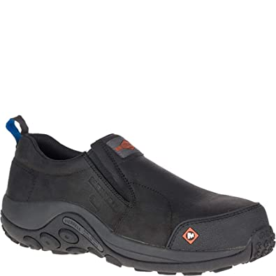 1867bf873c61 Merrell Jungle Moc ESD Comp Toe Work Shoe Men 7 Black