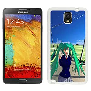 Popular And Unique Designed Cover Case For Samsung Galaxy Note 3 N900A N900V N900P N900T With Girl Happiness Greeting Road Gesture white Phone Case