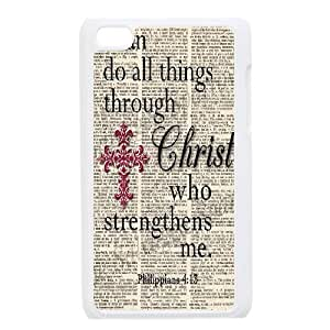 SOPHIA Phone Case Of Unique Cool Painting Bible Verses Christian For Ipod Touch 4